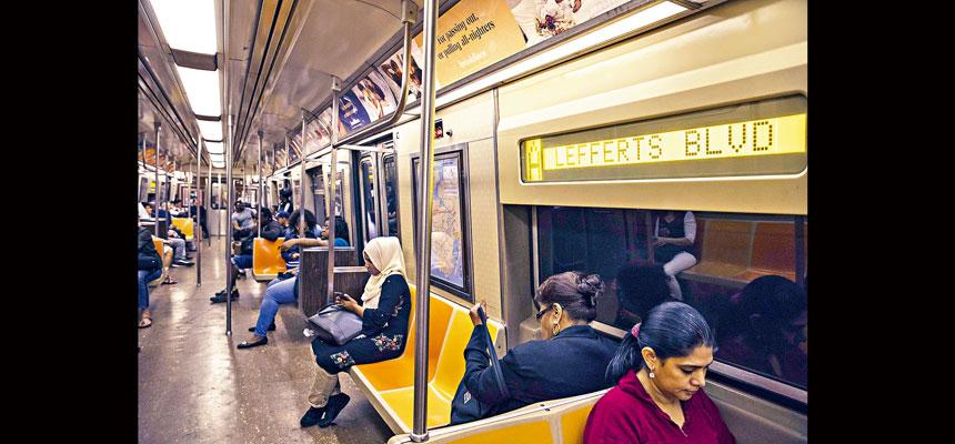 大都會捷運局數據顯示,地鐵列車的表現持續改善。Hiroko Masuike/紐約時報