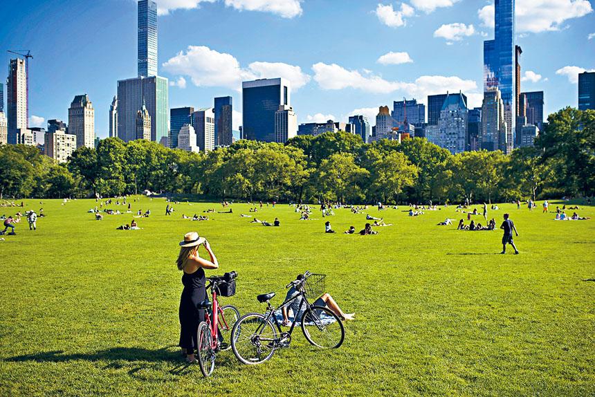 中央公園的重大罪案數字,大升三成至去年69宗。Karsten Moran/紐約時報