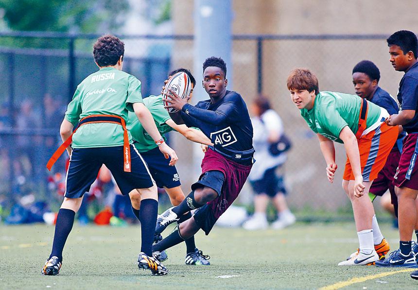 非裔及西裔學生可以參加的運動隊明顯較少。Nicole Bengiveno/紐約時報