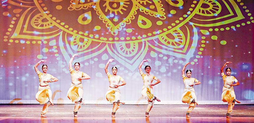 印度舞蹈《寧靜》。