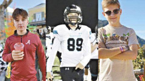 車內三名青少年Drake Ruiz, Daniel Hawkins和Jacob Ivascu都因嫌犯錢德拉蓄意衝撞造成的車禍意外而失去寶貴性命。家屬提供