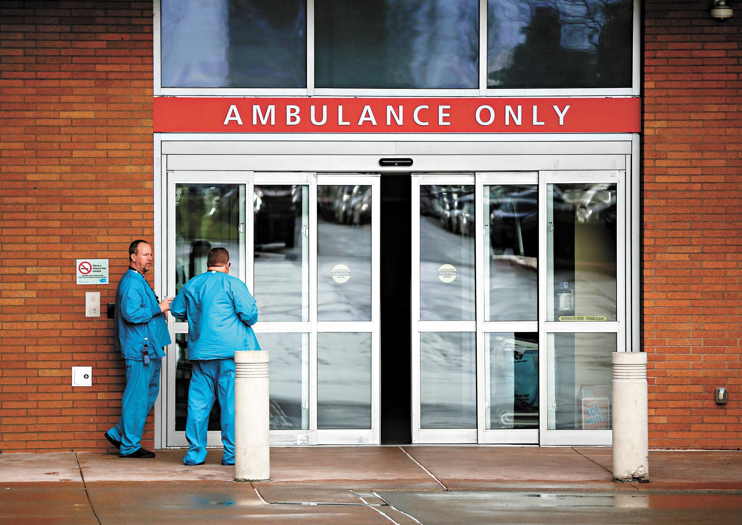 普羅維登斯地區醫療中心醫療中心表示,患者至少在23日之前,都會接受隔離治療和觀察。路透社