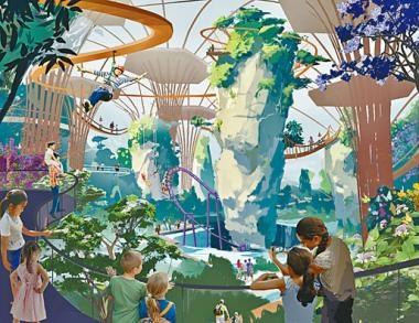 ‧新遊樂設施,飛越森林、深海狂潛