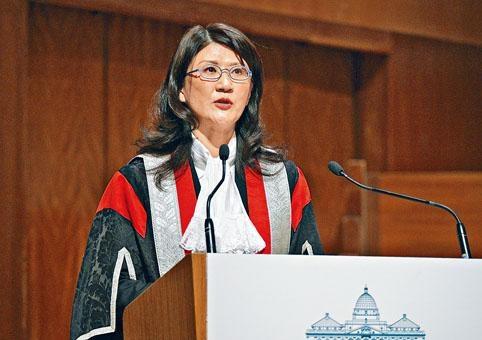 彭韻僖稱,香港的司法機構在政治上「色盲」。