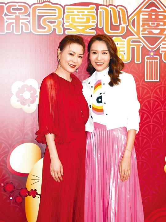 李佳芯與田蕊妮因合作《誇世代》而成為好朋友。