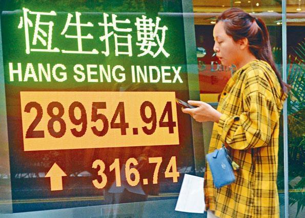中美本周將簽署第一階段貿協,兩國宣布每半年舉行一次經濟會議,化解爭端,消息令中港股市向好。