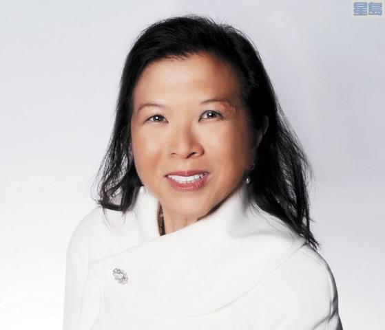 余雪潔成為三藩市總商會董事會主席。三藩市總商會提供