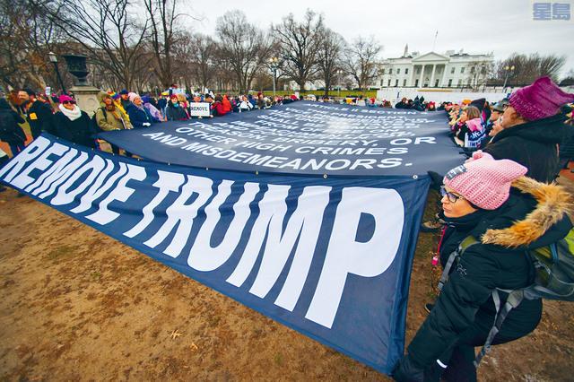 全國多個城市舉行第四屆婦女大遊行,但今年遊行人數相對較少,而且運動領導層出現裂痕。美聯社