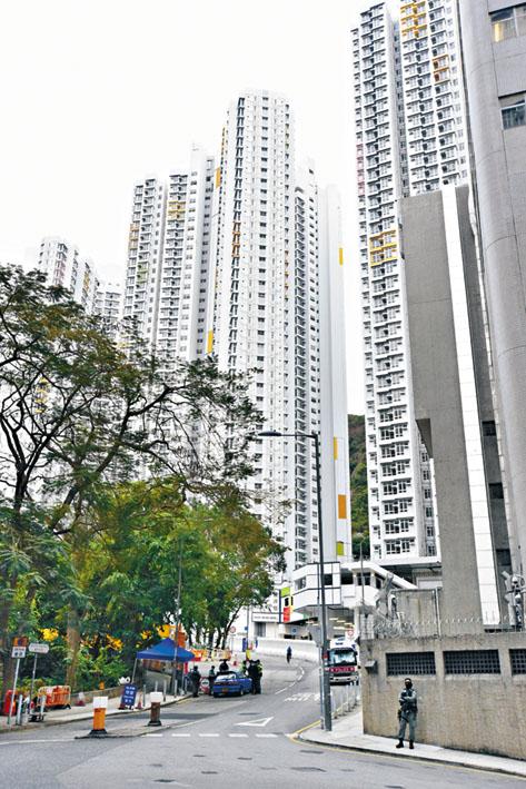 消息指政府已徵用火炭駿洋邨作檢疫中心。