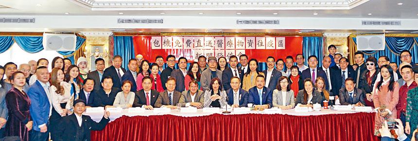 為支援疫區抗擊新型冠狀肺炎,愛心人士江錦鑫將包機助僑胞運送愛心物資回中國。