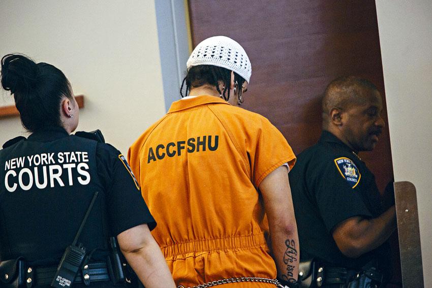 紐約市5區的定罪率出現很大差別。Victor J. Blue/紐約時報