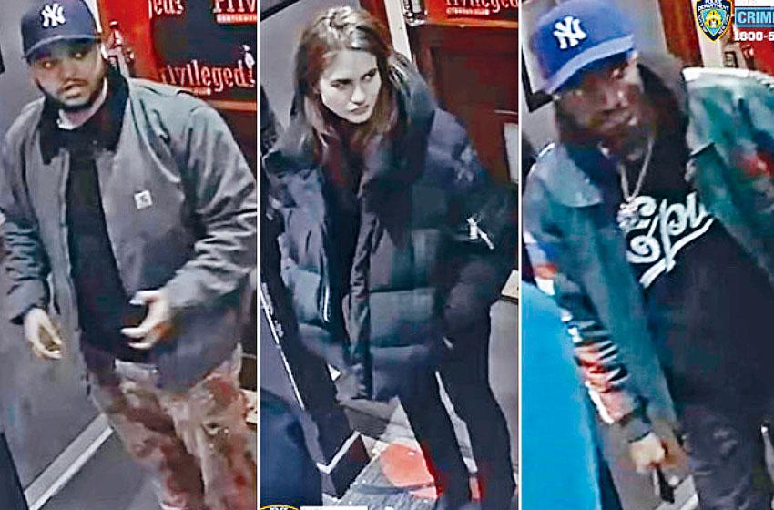 警方發布部分疑犯照片,希望公眾提供協助。DCPI圖片