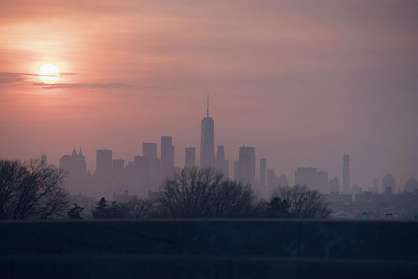 紐約市的空氣質素問題備受關注。George Etheredge/紐約時報