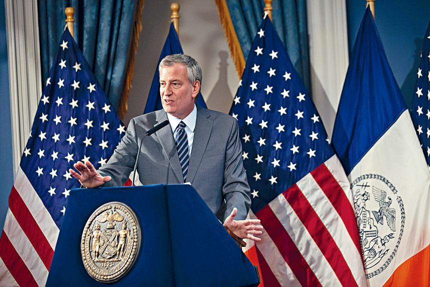 白思豪本周提名2位MTA董事會成員。美聯社