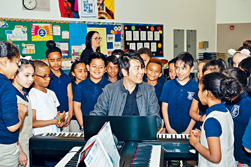 郎朗國際音樂基金會攜手大耳朵遊戲將教育新科技帶入「靈感的琴鍵」全美鋼琴教室。