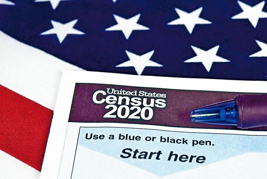 請維州華裔居民填寫2020年人口普查回執支持卡。
