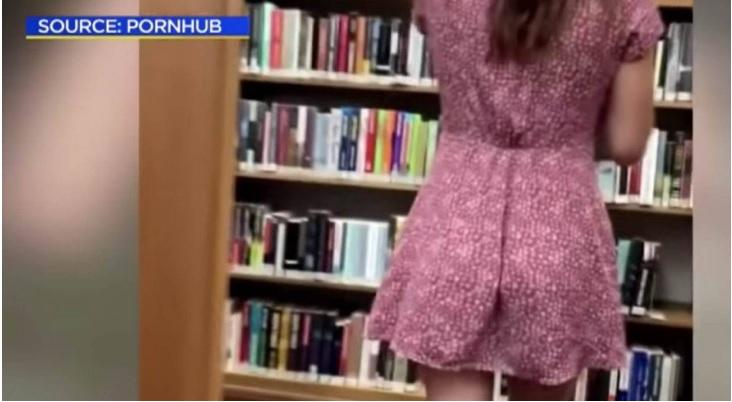 聖塔莫妮卡一間公立圖書館竟成為成人情色電影拍攝場所,引發眾怒。CBA LA