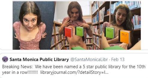 聖市居民在市政反映網頁Santa Monica Problems將不雅影片片段截圖,要求市府高層處理。推特照片