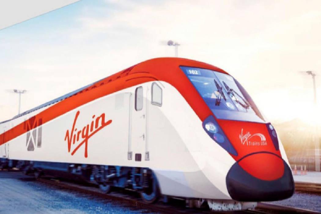 維珍列車拉斯維加斯車站將位於South Premium Outlets購物中心附近。Virgin Trains