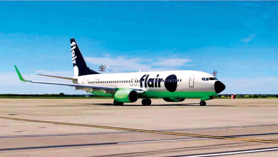 ■Flair航空公司推出「全國任飛」套票。CBC