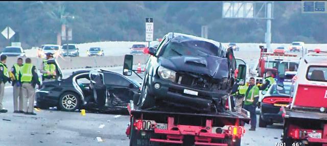 南加州週日深夜和凌晨至少發生四起逆向行駛車禍事件。CBSLA