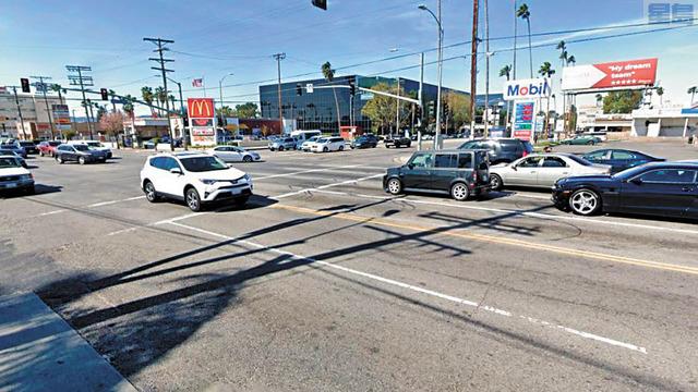 凡奈斯Sepulveda大道和Sherman Way交叉十字路口出事率全洛杉磯最高。Google Maps