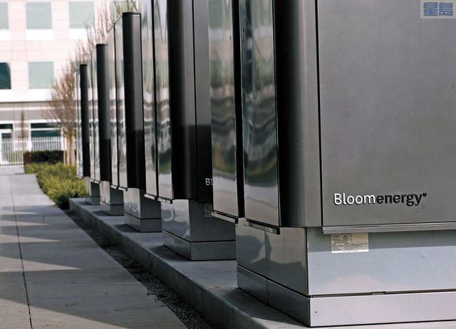 氫燃料電池「獨角獸」Bloom Energy誤報近四年業績,導致股價暴跌。資料圖片