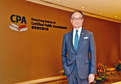 香港會計師公會會長江智蛟。