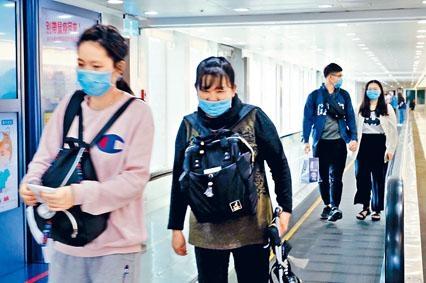 前晚抵菲的台灣人,昨天陸續返台。