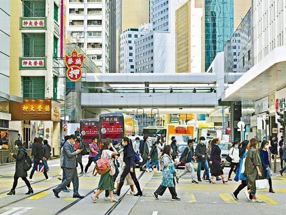 陳茂波表明因疫情及中國、國際環境轉差關係,今年本港經濟難言樂觀。