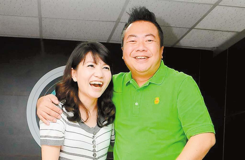 董至成(右)和羅若雲(左)