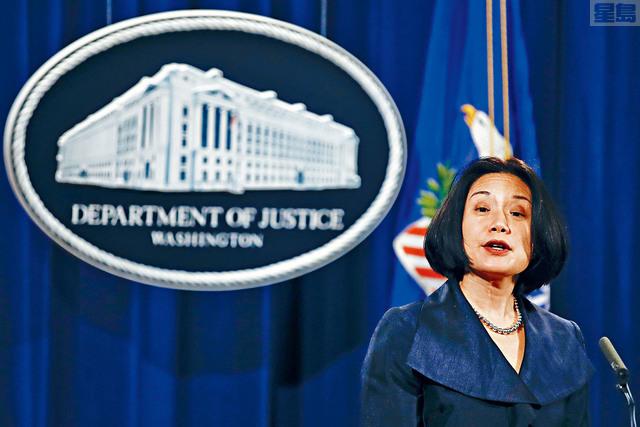 ■總統特朗普撤銷對前華府華裔聯邦檢察官劉潔西的財政部助理部長提名。    資料圖片