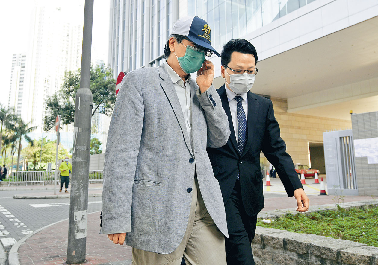 林楚華涉嫌向公職人員提供利益遭廉署起訴。