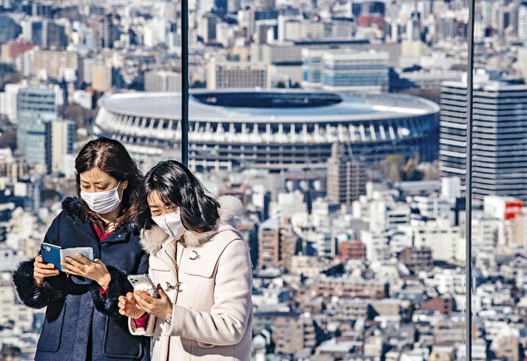 去年底完工的東京奧運主場館新國立競技場。