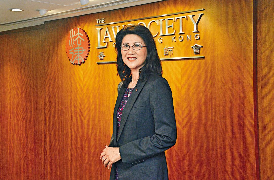 香港律師會會長彭韻僖。