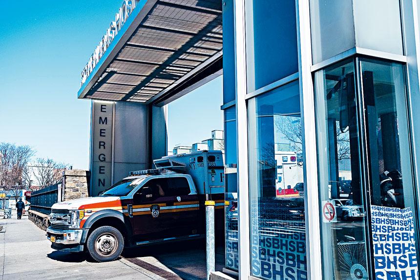 聖巴拿巴醫院擔心削資將嚴重影響正常運作。Gabriela Bhaskar/紐約時報