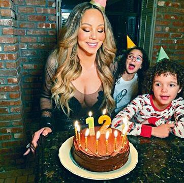 瑪麗嘉兒與子女在家中慶祝50歲生日,卻自稱12歲!