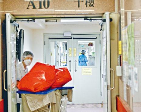 醫管局負氣壓病房使用率已逾七成,料於兩周內爆滿。