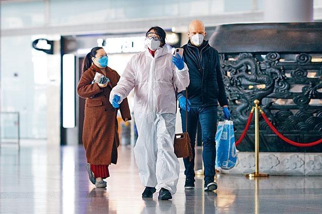 近日抵達北京的外國旅客均需接受嚴格檢疫。
