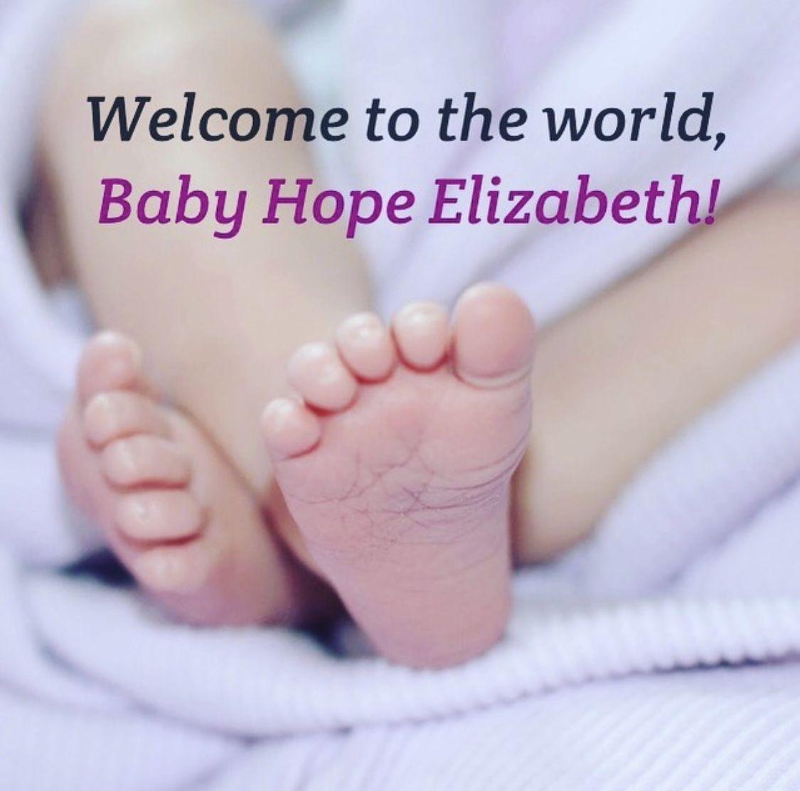 布魯曼斯坦宣佈女兒出生。 圖片來自布魯曼斯坦社交媒體