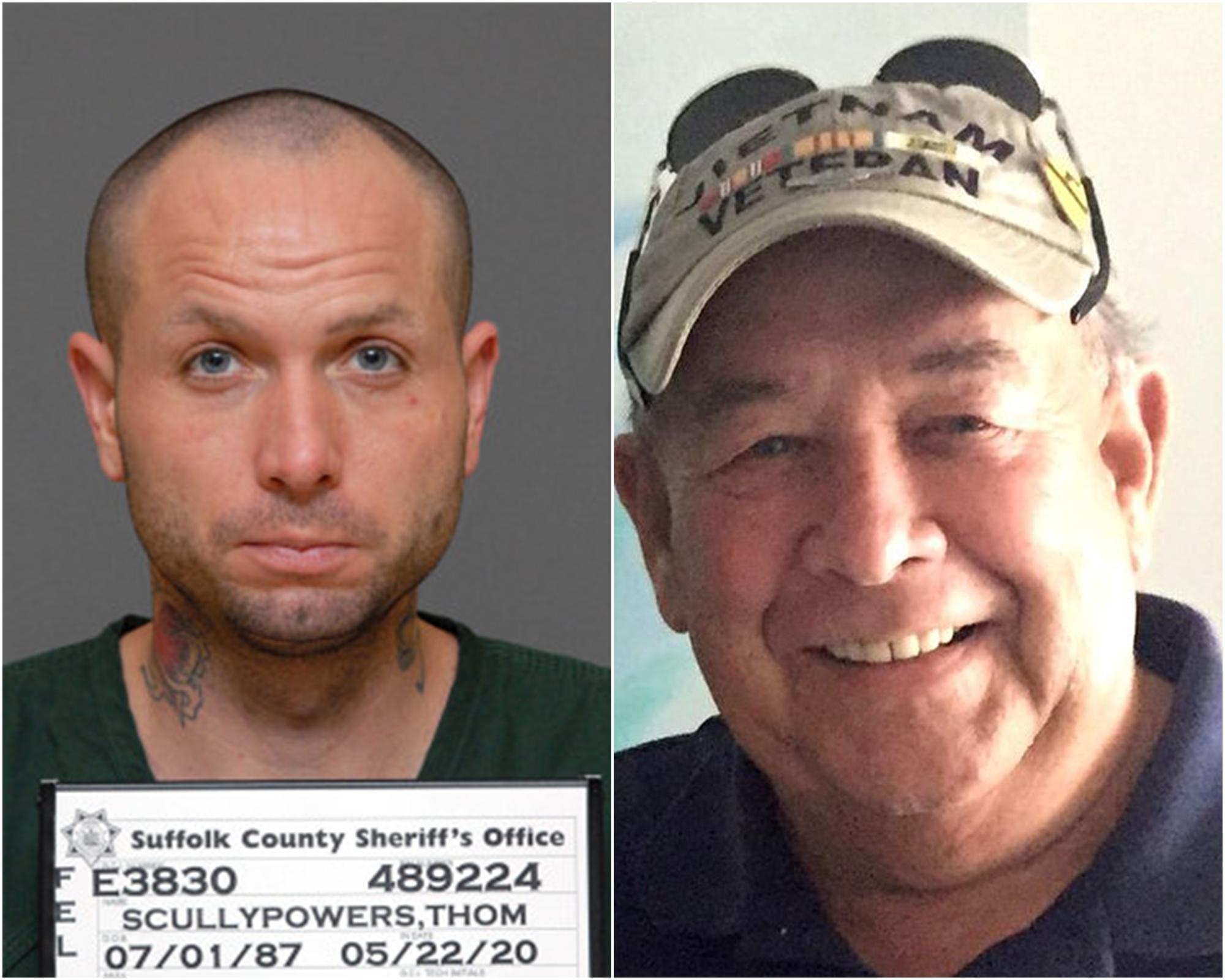 斯庫利-鮑爾斯被控謀殺罪名。蘇福縣地區檢察官圖片