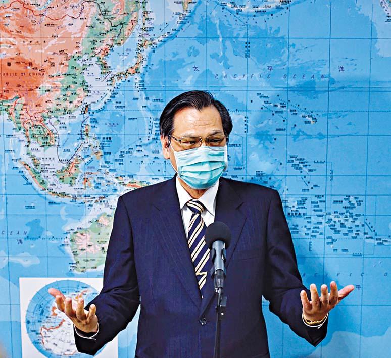 陳明通稱將以「香港人道援助行動專案」幫助香港。  中央社