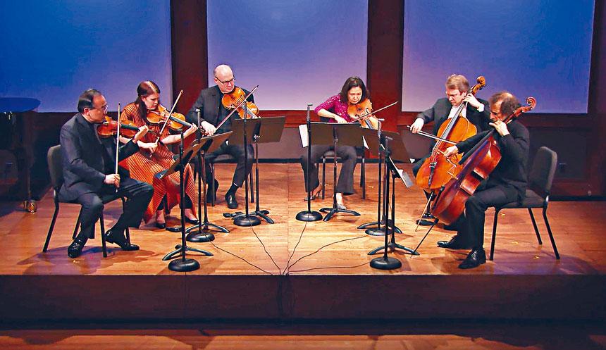 林昭亮與林肯中心室內樂協會成員本周日演奏柴可夫斯基作品。