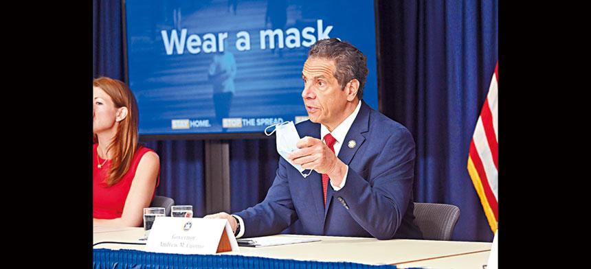 柯謨強調,州府已經建立一套 衡量準則,旨在安全情況下重新開放。州長辦公室Flickr圖片