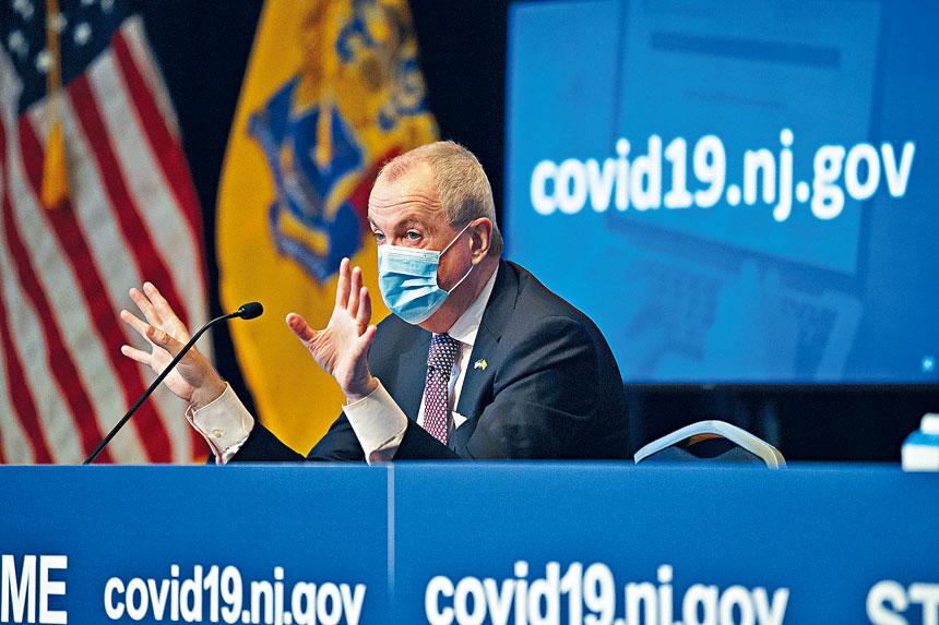 墨菲宣布把公共衛生緊急狀態令延長30天。美聯社