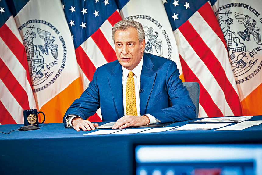 白思豪提出的MTA董事會任命名單,遲遲未獲柯謨提交州議會。市長辦公室Flickr圖片