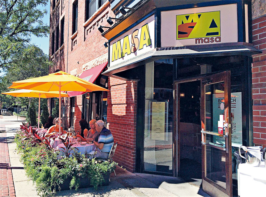位於南端的餐廳Masa今年三月份永久性地關閉了。檔案圖片