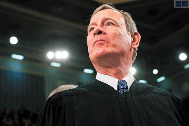 聯邦最高法院駁回教會上訴。首席大法官羅伯茨投下決定性行一票。美聯社