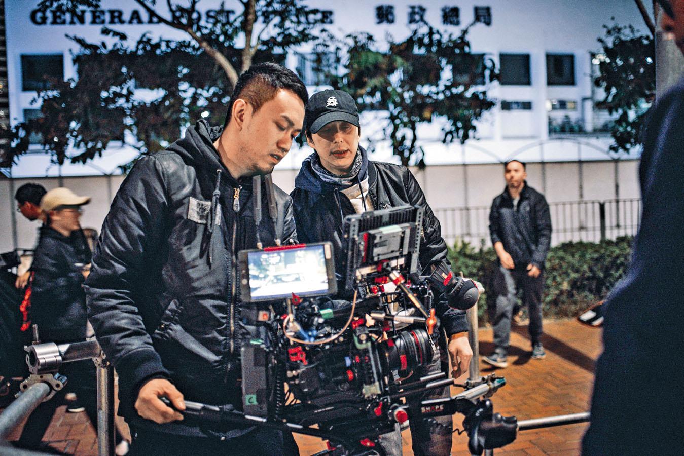 鄧健泓首次做導演就一擊即中。