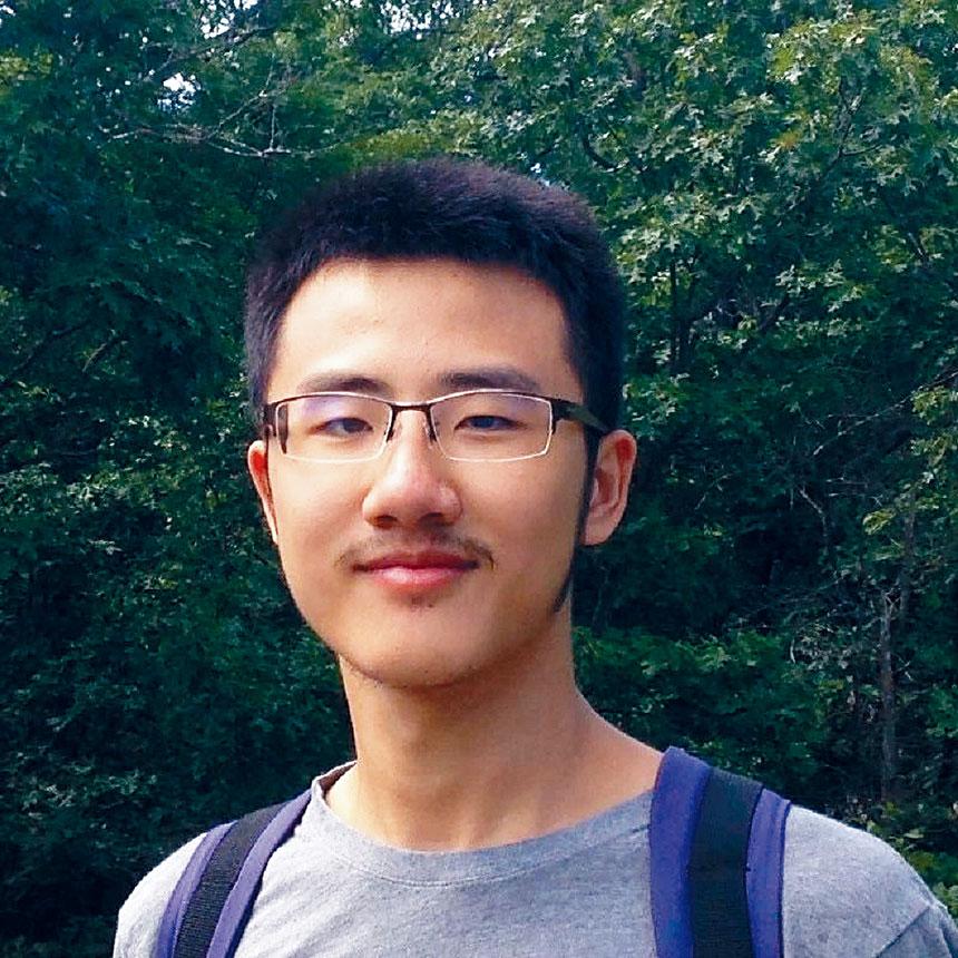 失聯兩周的中國留學生譚仁達。檔案圖片